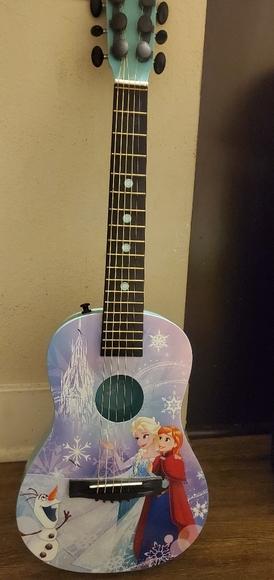 Frozen Acoustic Guitar
